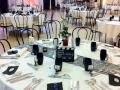 Decoration salle mariage, salle fete, decoration theme cinema- theme mariage