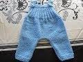 tuto tricot salopette bébé