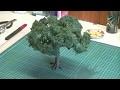 arbre miniature pour diorama