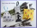 Tuto Couture Facile Sachets de Lavande  / Sewing easy
