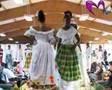 défilé de robe antillaise de mariage
