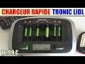 chargeur rapide piles tronic tlg 1000 c5 lidl rapid charger battery schnellladegerät
