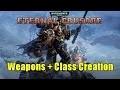 Warhammer Eternal Crusade: Weapons + Class Creation