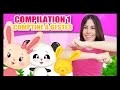 Compilation des comptines à gestes et comptinettes pour bébés - Titounis