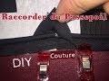 Raccorder du passepoil - Tutoriel Couture