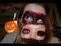 Le maquillage peau arrachée du masque de chair !