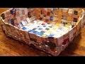 Fabriquer un panier tissé en papier - DIY Maison - Guidecentral