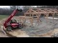 Construction de la grange