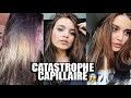 CATASTROPHE CAPILLAIRE ! CHEVEUX VERTS, VIOLETS, ORANGE...
