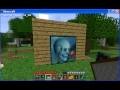 [Minecraft]Passage secret derrière tableau.
