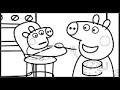 Peppa Pig George Pig | Activités amusantes pour enfants | Pages de coloriage