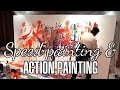 Speed painting et Action painting