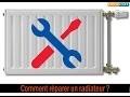 Chauffage domestique : Comment réparer un radiateur froid qui ne chauffe pas ?