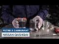 Changer le filtre carburant sur Nissan Qashqai