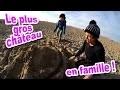 VLOG - LE PLUS GRAND CHATEAU de SABLE de la famille Démo Jouets