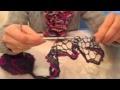 Comment tricoter une écharpe papillon