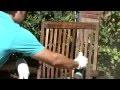Rénover le mobilier de jardin en teck