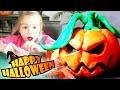 DIY - TUTO - Confection d'une citrouille d'Halloween 🎃 en pate à modeler ! Pumpkin modeling clay !