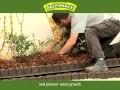 Bordure plastique de jardin clipsable Greenparck