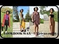 Lookbook WAX - 4 African outfit
