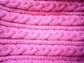 faire une tresse au tricot