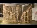 HTK#26 - kapla construction destruction domino : double spirale 2