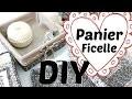 DIY -  Comment Faire des Petits Paniers en Ficelle | Tuto déco panier et plateau avec de la ficelle