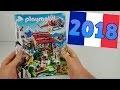 CATALOGUE PLAYMOBIL 2018 FRANCE - nouveautés (maison moderne,voiture,family fun,pompier)
