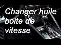Faire la vidange de boite de vitesse - boite mécanique - Renault Clio