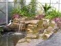 Formation, bassin d'eau au DEP en réalisation d'aménagement paysager