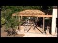 NATTY BOIS : Garage Ossature bois avec Toit Plat et EPDM