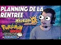 PLANNING DE LA RENTREE - Retour du TR Challenge | Review & LIVE !!