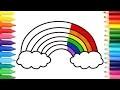 Comment Dessiner Des Pages De Coloriage En Arc-En-Ciel   Les Chansons Des Enfants Apprennent Le Des