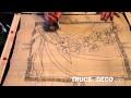 Technique de peinture sur soie - Tutoriel par trucsetdeco.com