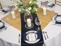 Table Linen Inspiration: Navy Blue Nautical Theme