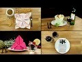 Art de la table : 6 façons de plier facilement ses serviettes avec élégance
