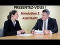 ðŸ�† Coach Emploi : Simulation 2 d'entretien d'embauche, de recrutement, se présenter