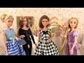 Barbie Robes de Mariée Boutique de Raiponce ✤ Coiffeuse Princesses ✤ Tris Divergent