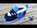 Baskets Nike bébé crochet 3/3 / Nike sneakers crochet (english subtitles)
