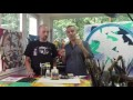 Test et présentation de matériel de peinture acrylique : Acrylique extra fine Liquitex