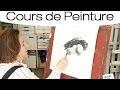 Cours de Peinture : Peindre au fusain