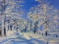 Mes Paysages de Neige - Olivier Lemennicier Artiste peintre sur toile, Peinture Acrylique - Vidéo