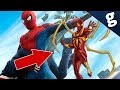 Le costume de Spider-Man dans Avengers : Infinity War !
