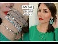 Haul bijoux et accessoires Stella & dot caspule e�te� 2018