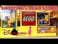 [VLOG] Shopping au Lego Store à Disneyland