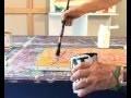 Peinture sur toile, Faire du dripping selon Jackson Pollock avec pébéo