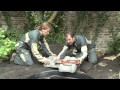 construction bassin préfabriqué (préformé) pour bassin de jardin