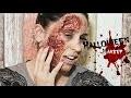 Easy Halloween Makeup - Visage brulé