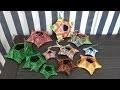 Rout'Art Tuto Eco-Vannerie : Etoile de Noël