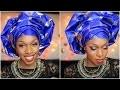 Attaché de foulard | Le gele yoruba